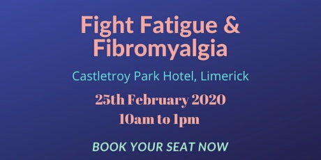 Fight Fatigue and Fibromyalgia tickets