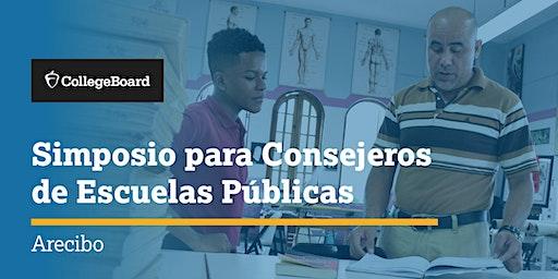 Simposio para Consejeros de Escuelas Públicas - Arecibo