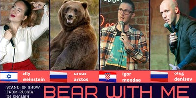 English stand-up: Bear With Me comedy show // Turku