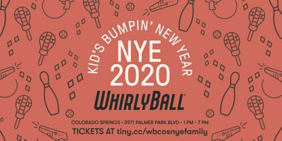 WhirlyBall Colorado Springs Family NYE Event