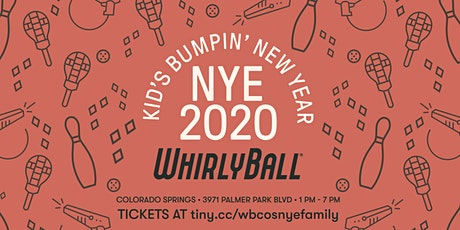 WhirlyBall Colorado Springs Family NYE Event tickets