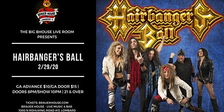 Hairbanger's Ball at BHouse LIVE tickets