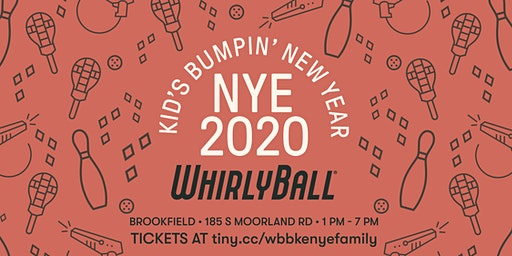WhirlyBall Brookfield Family NYE Event