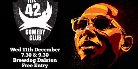 The 42 Comedy Club Early Show tickets