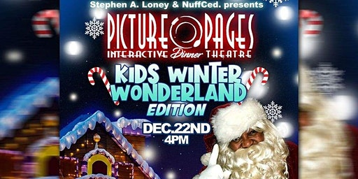 Picture Pages Kids Edition Winter Wonderland
