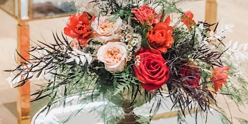 Make Your Own Valentine's Themed Floral Arrangement