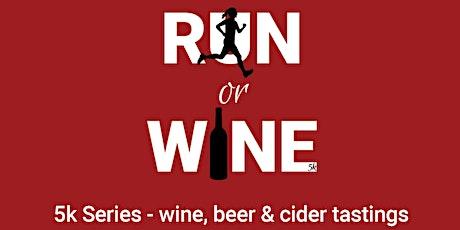 Run or Wine 5k PLUS Yoga tickets