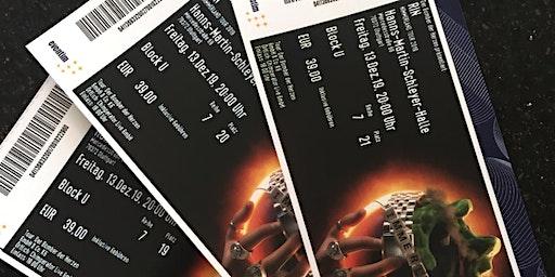 3 Konzertkarten für RIN Nimmerlandtour