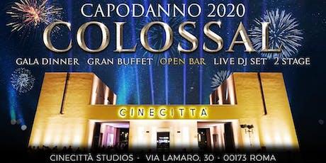 Capodanno 2020 - Cinecittà Studios Roma biglietti