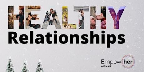 Healthy Relationships billets