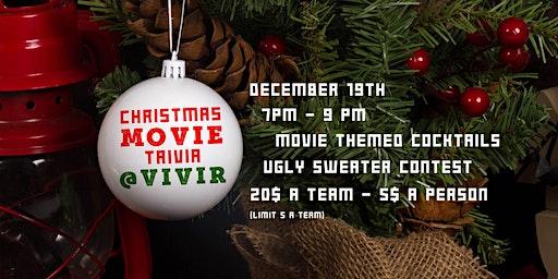 Christmas Movie Trivia Night + Ugly Sweater Contest!
