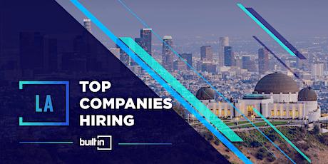 Built In LA's Top Companies Hiring tickets