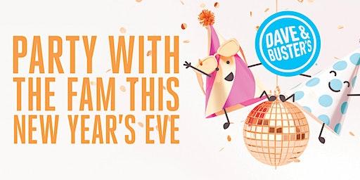 Noon Year's Eve 2020 - Dave & Buster's, Alpharetta
