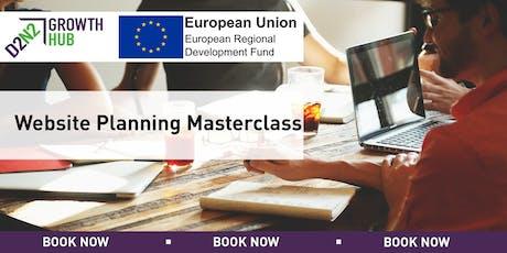 Website Planning Masterclass tickets