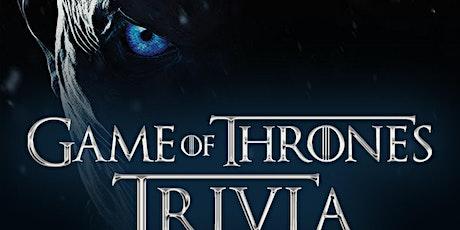 "Game of Thrones ""Brunch"" Trivia tickets"