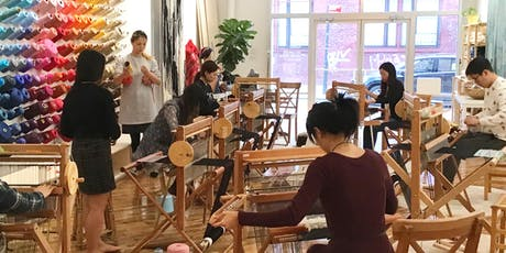 Weaving from Waste | Weaving workshop with Loop of the Loom and TOAST tickets