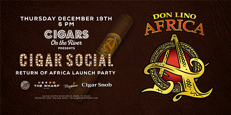 Cigar Social: Return of Africa Launch Party tickets