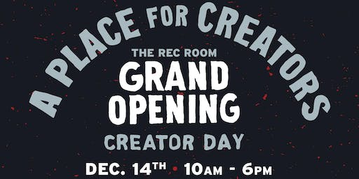 The REC Room Grand Opening: Creator Day