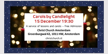 Carols by Candlelight at Christ Church Amsterdam tickets