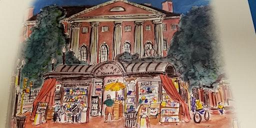Meet  Sage Stossel, Harvard Alum, Writer, Illustrator and Editor