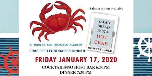 St. John of SF Academy Crab Feed Fundraiser Dinner