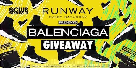 Runway Presents The Balenciaga Giveaway! tickets