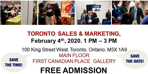 Toronto Sales & Marketing Job Fair - February 4th, 2020