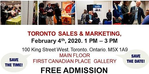 Toronto Sales & Marketing Job Fair - February 4th, 2020