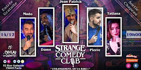 Strange Comedy Club - Stand up #73 billets
