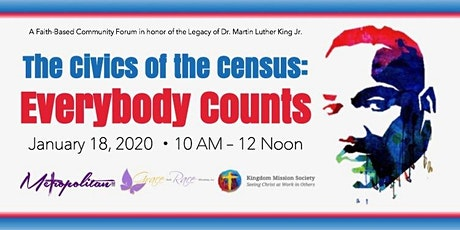 The Civics of the Census: Everybody Counts tickets
