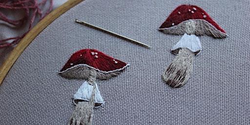 Fungi Embroidery