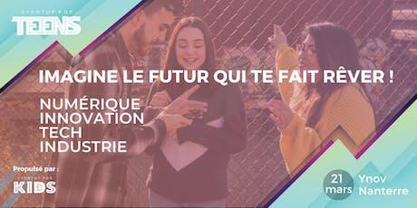 Startup For Teens Inspire - Nanterre 21 mars billets