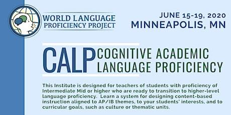 Minnesota Summer Institute CALP (Cognitive Academic Language Proficiency) tickets