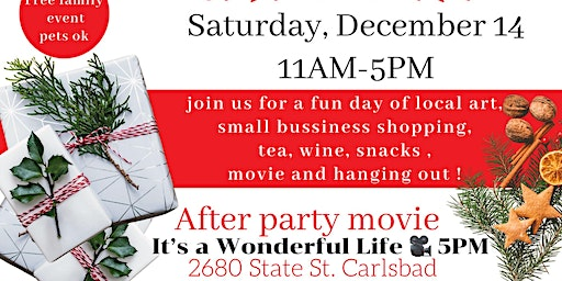 Shop, Sip, Mingle and Movie
