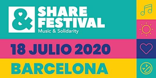 SHARE Festival 2020 | Sábado 18 Julio