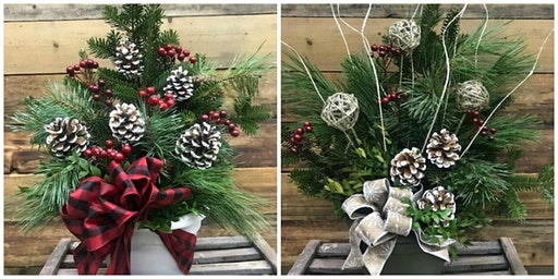 Fresh Christmas Arrangement Workshop
