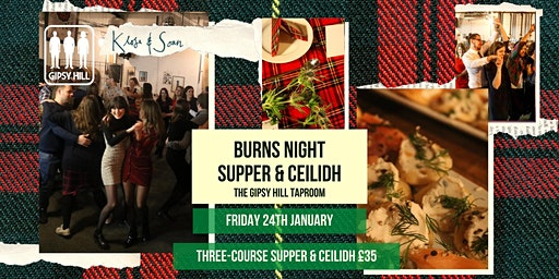 Burns Night Supper & Ceilidh