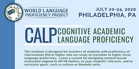 PA Summer Institute CALP (Cognitive Academic Language Proficiency) tickets