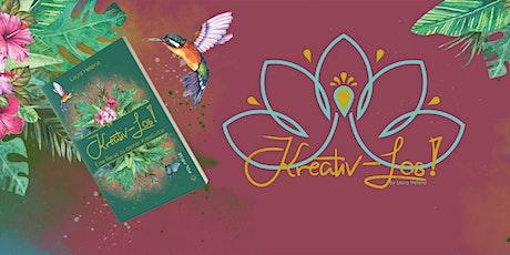 Kreativ -LOS! DAS Webinar zu deinem Buch Tickets