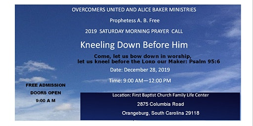 2019  PRAYER  MORNING  CALL