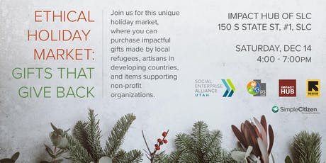 Ethical Holiday Market tickets
