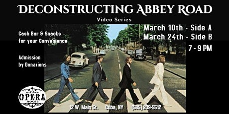 Deconstructing Abbey Road tickets