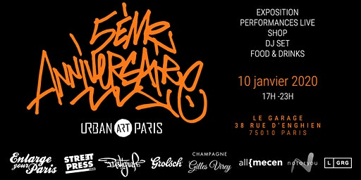 Urban Art Paris fête ses 5 ans!