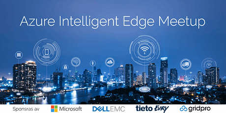 Azure Intelligent Edge Meetup tickets