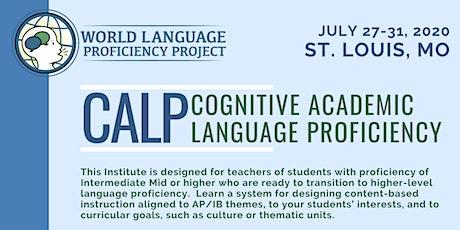 St. Louis Summer Institute CALP (Cognitive Academic Language Proficiency) tickets