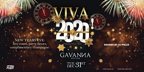 VIVA 2020: New Year's Eve tickets