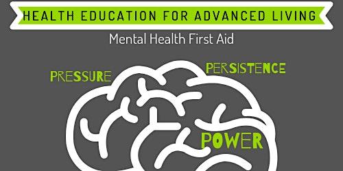 Free Mental Health First Aid Training