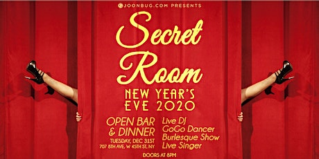 Secret Room New Years Eve 2020 Party tickets
