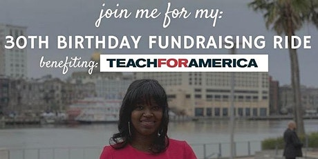 Jasmine's 30th Birthday x Vibe Ride x Teach for America Charity Ride tickets