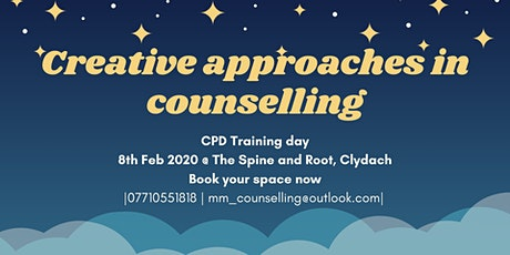 Creative approaches in Counselling (CPD) tickets